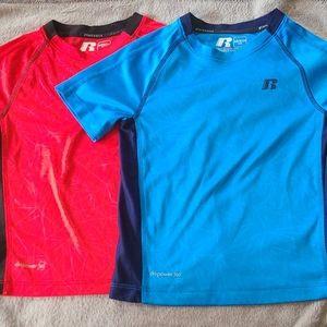 Boys athletic shirts